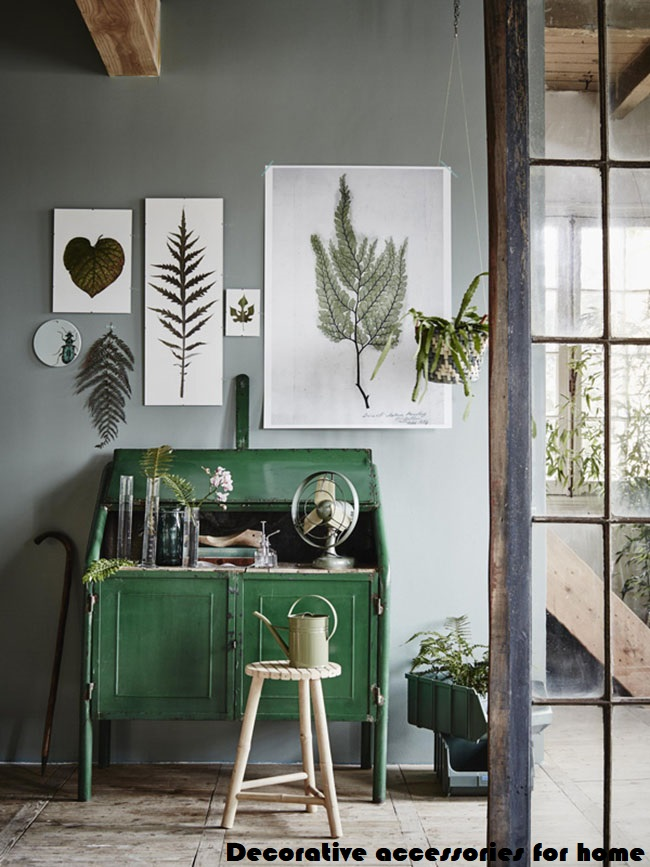 Decorative accessories for home