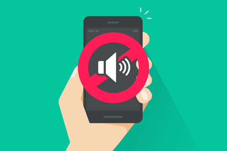 How to mute phone