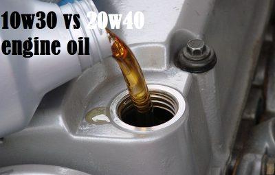 10w30 vs 20w40 engine oil