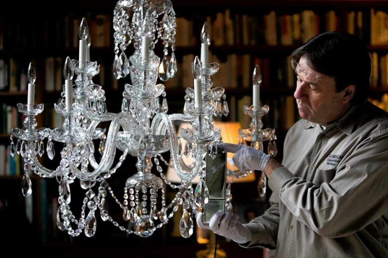 How To Wash The Crystal Chandelier?