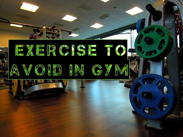 gym exercises to avoid