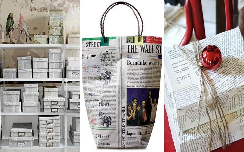 best newspaper craft