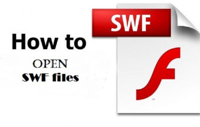 How to open SWF files