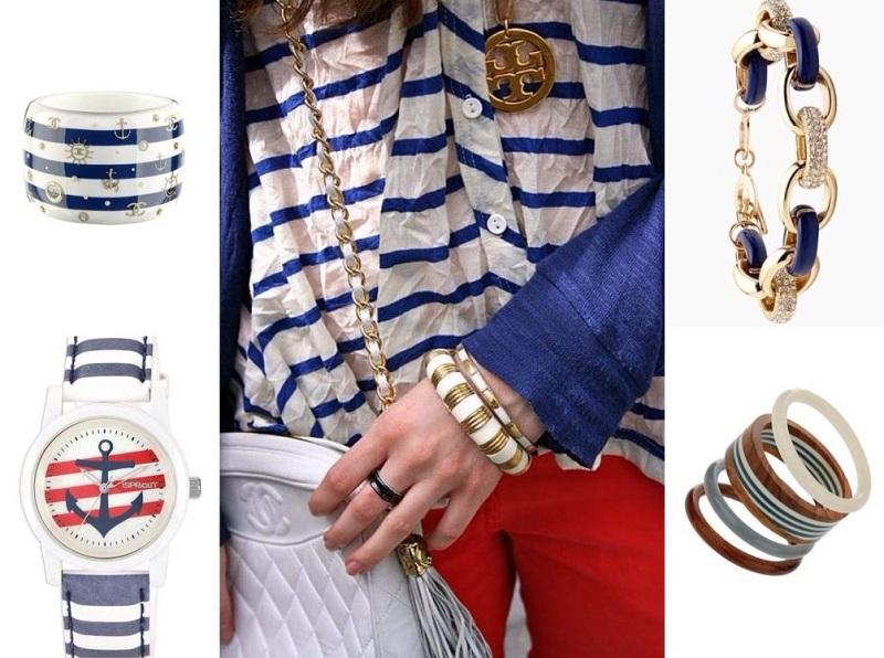 Marine Style Clothing For Women