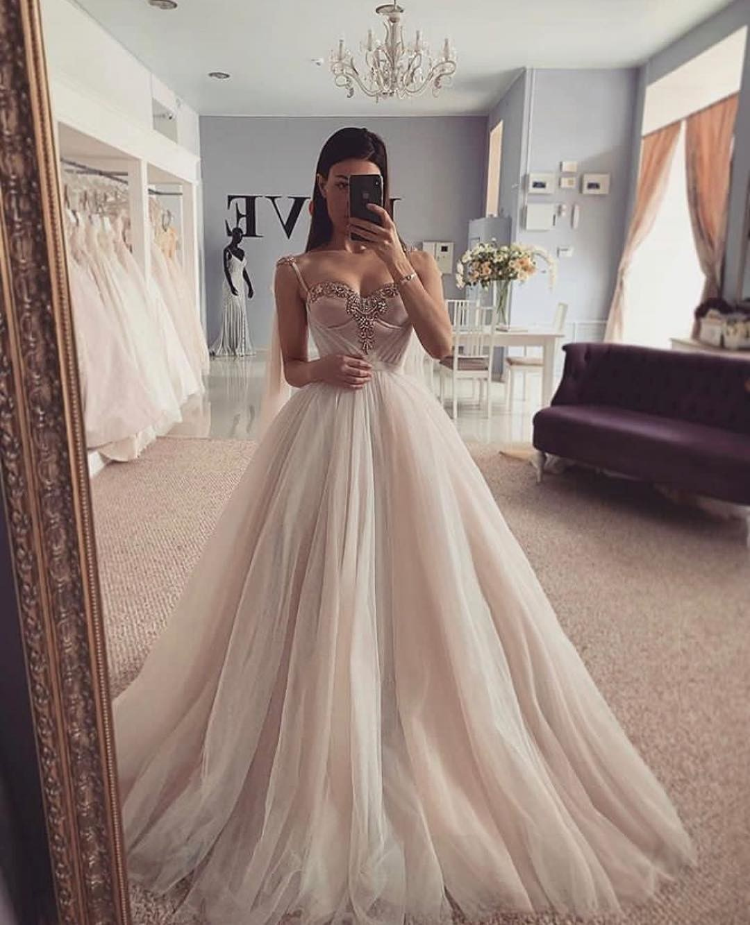 Tulle wedding dresses