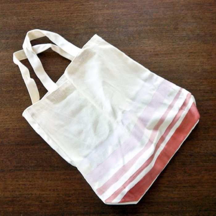 how to make a bag out of a long sleeve shirt