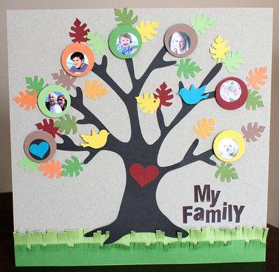 creative ways to make a family tree